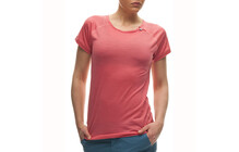 Houdini Women&#039;s Airborn T-shirt gris oxyd/rose